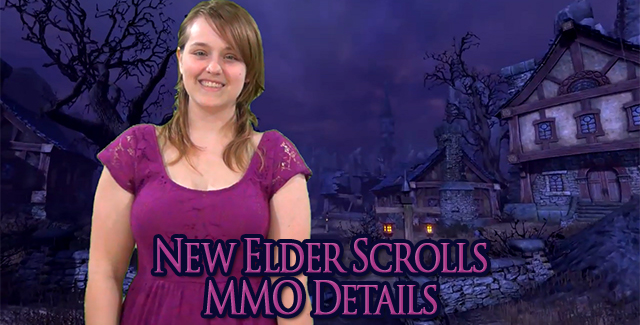 New Elder Scrolls MMO Details