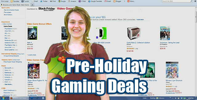 Pre Holiday Gaming Deals