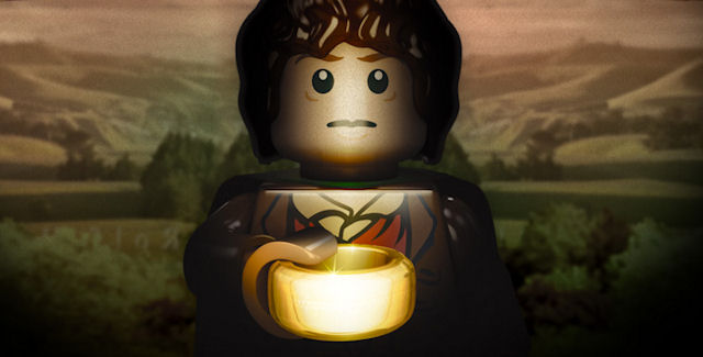 Lego Lord of the Rings Movie & Ending