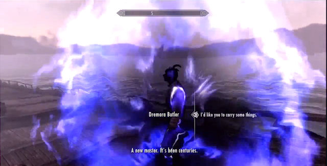 How To Get The Dremora Butler In Skyrim Dragonborn