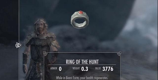 Dragonborn Werewolf Upgrade Rings Locations Guide