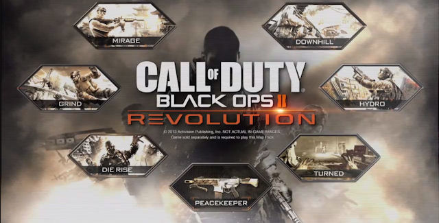 Black Ops 2: Revolution DLC contents