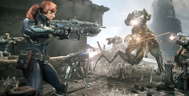 Gears of War Judgment Beta OverRun screenshot