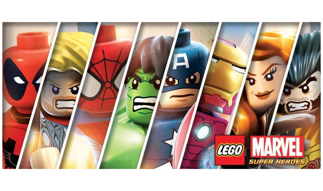 Lego Marvel Super Heroes Characters Artwork