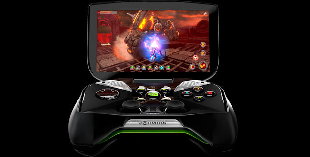 Nvidia Video Game Handheld Project Shield