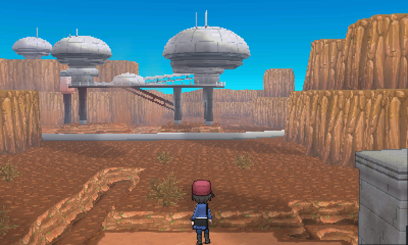Pokemon X and Y Boy Trainer Screenshot