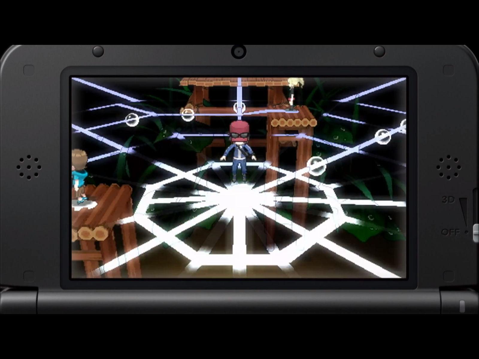 Pokemon X and Y Bug Gym Screenshot