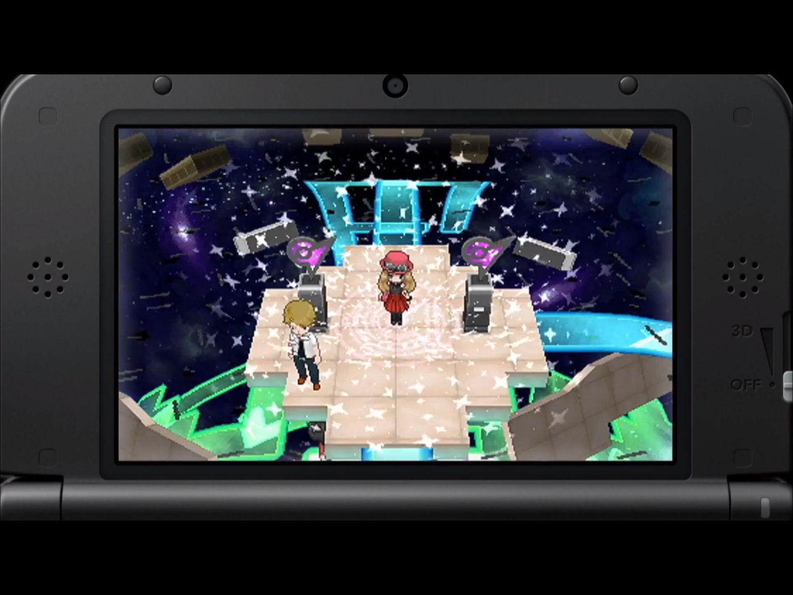 Pokemon X and Y Psychic Gym Screenshot