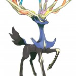 Pokemon X and Y Xerneas Artwork