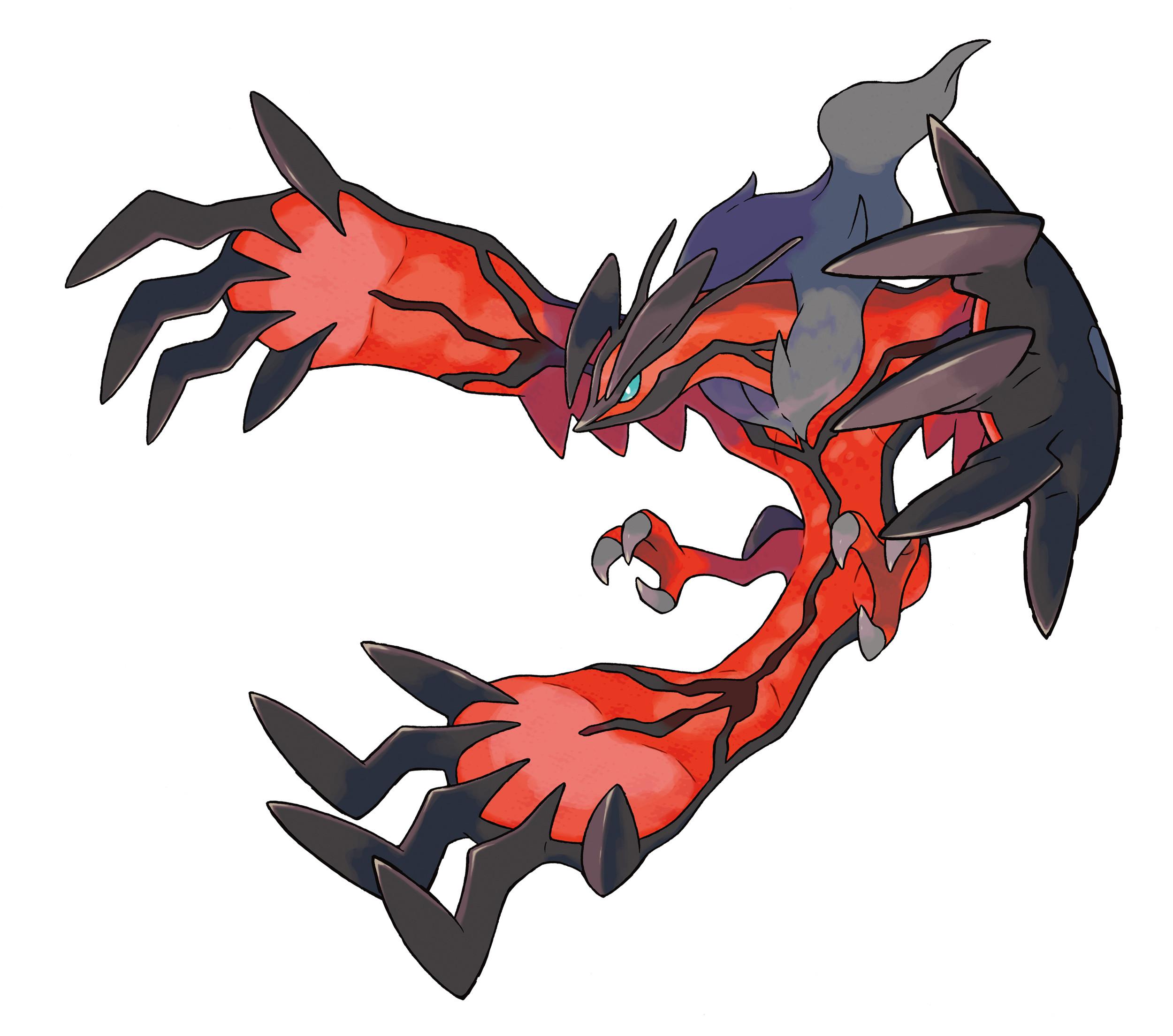 Pokemon X and Y Yveltal Artwork