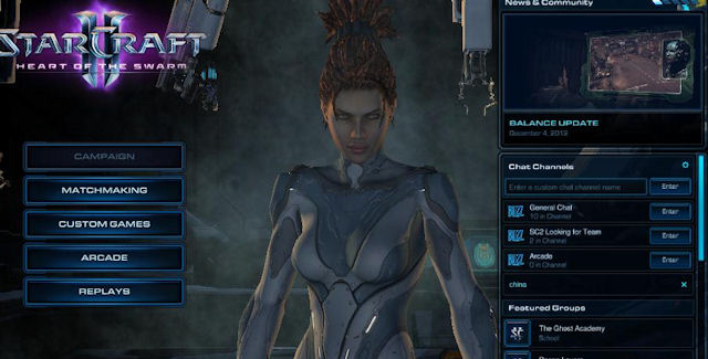 StarCraft 2: Heart of the Swarm Beta Download Screenshot