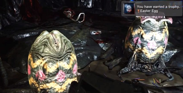 Aliens Colonial Marines Easter Eggs