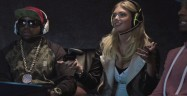 Kate Upton Plays Video Game