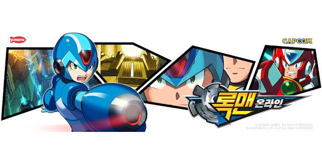 Mega Man Online logo