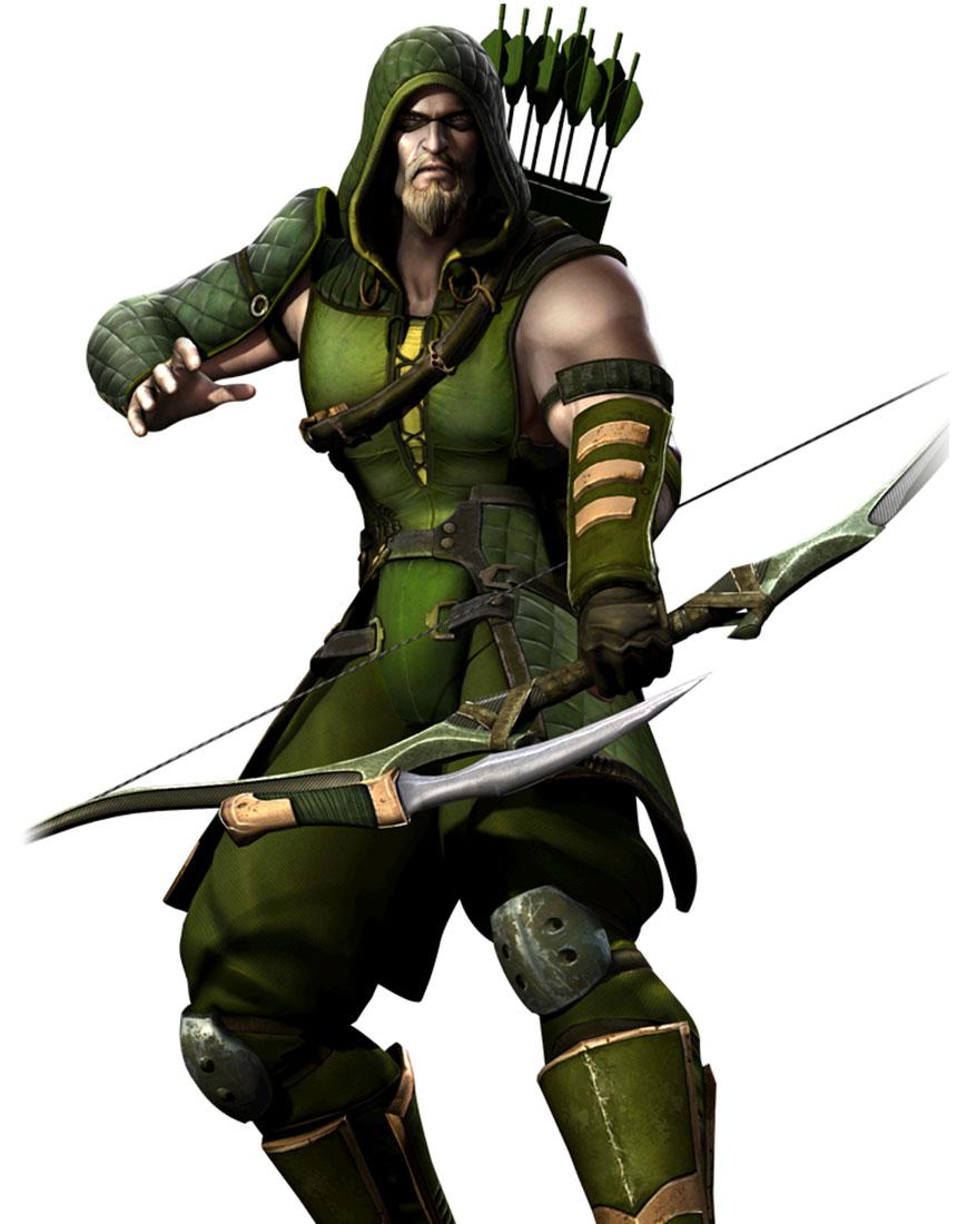 Injustice Gods Among Us Green Arrow Artwork
