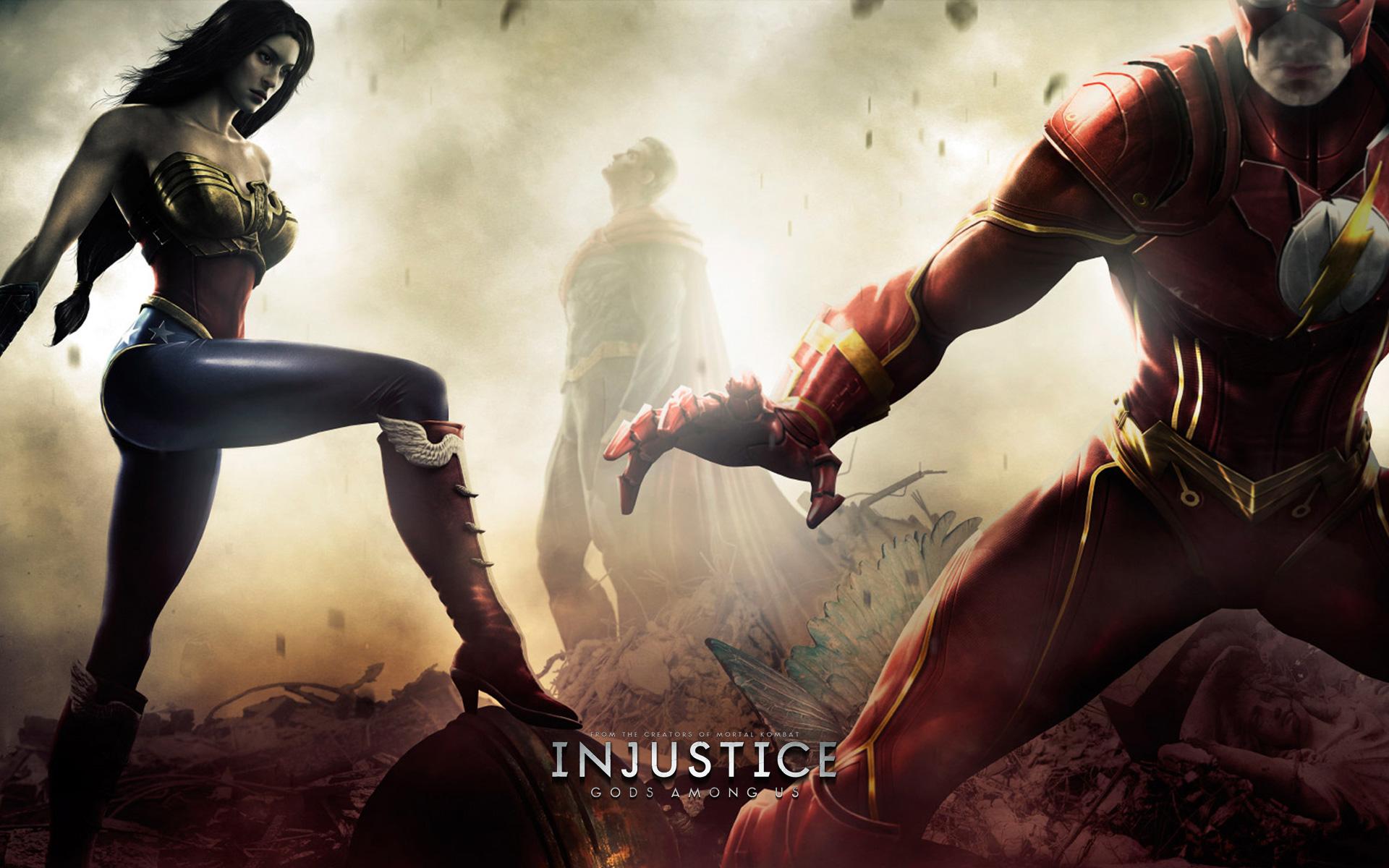 Injustice Gods Among Us Wonder Woman Artwork