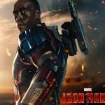 Iron Man 3 James Rhodes as Iron Patriot Wallpaper