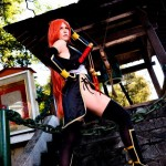 Kasumi Black and Golden Cosplay
