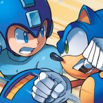 Sonic and Mega Man In Comic Book Crossover