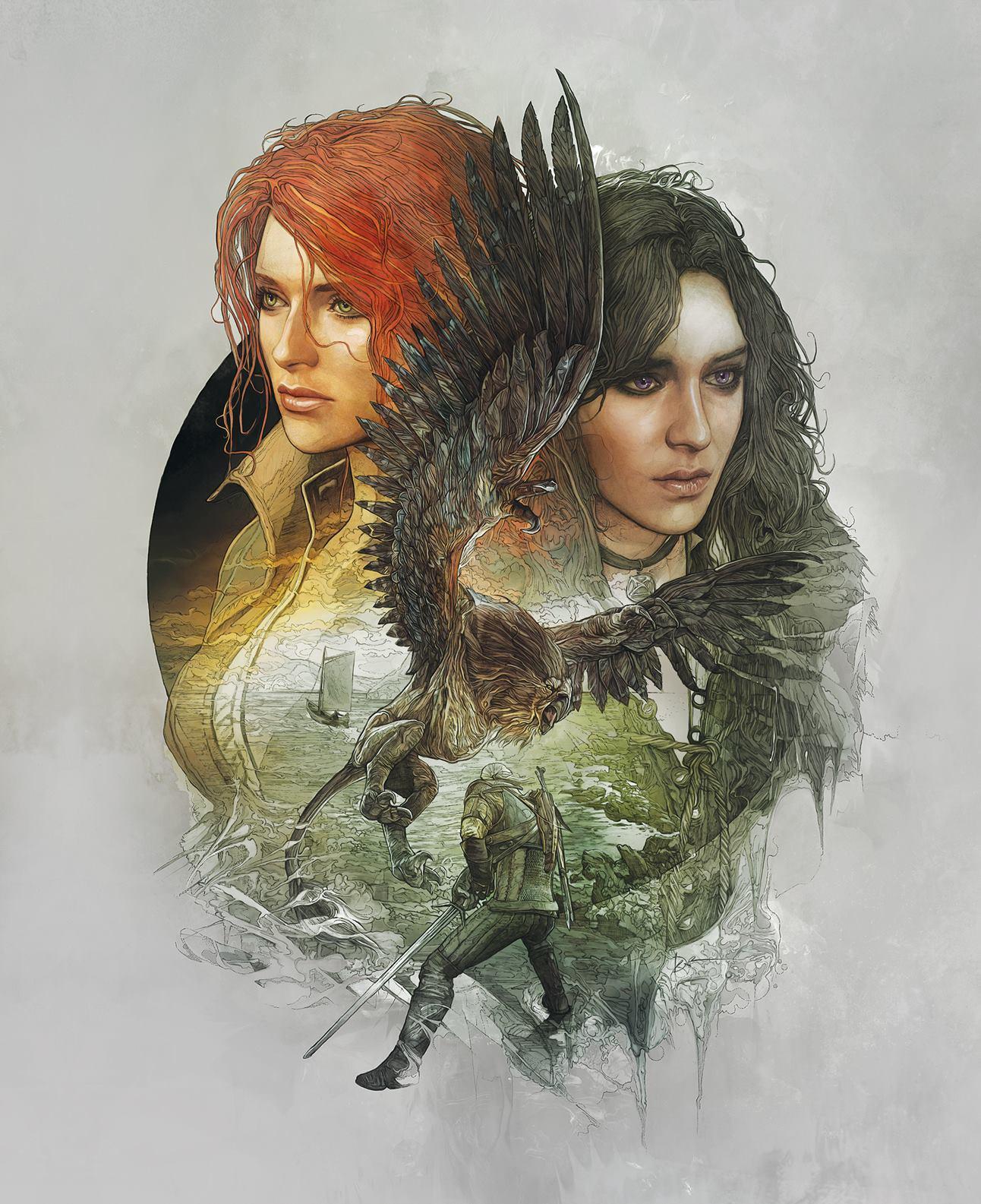 The Witcher 3 Novigrad Cover Art