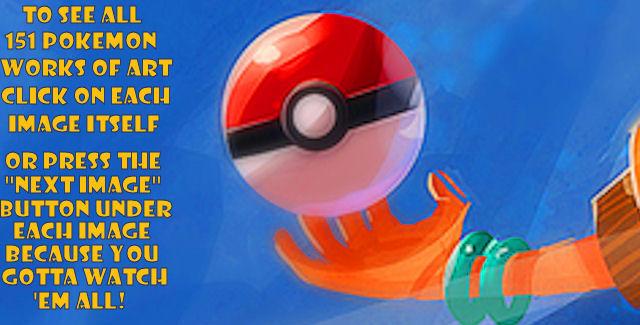 151 Pokemon Art Gallery