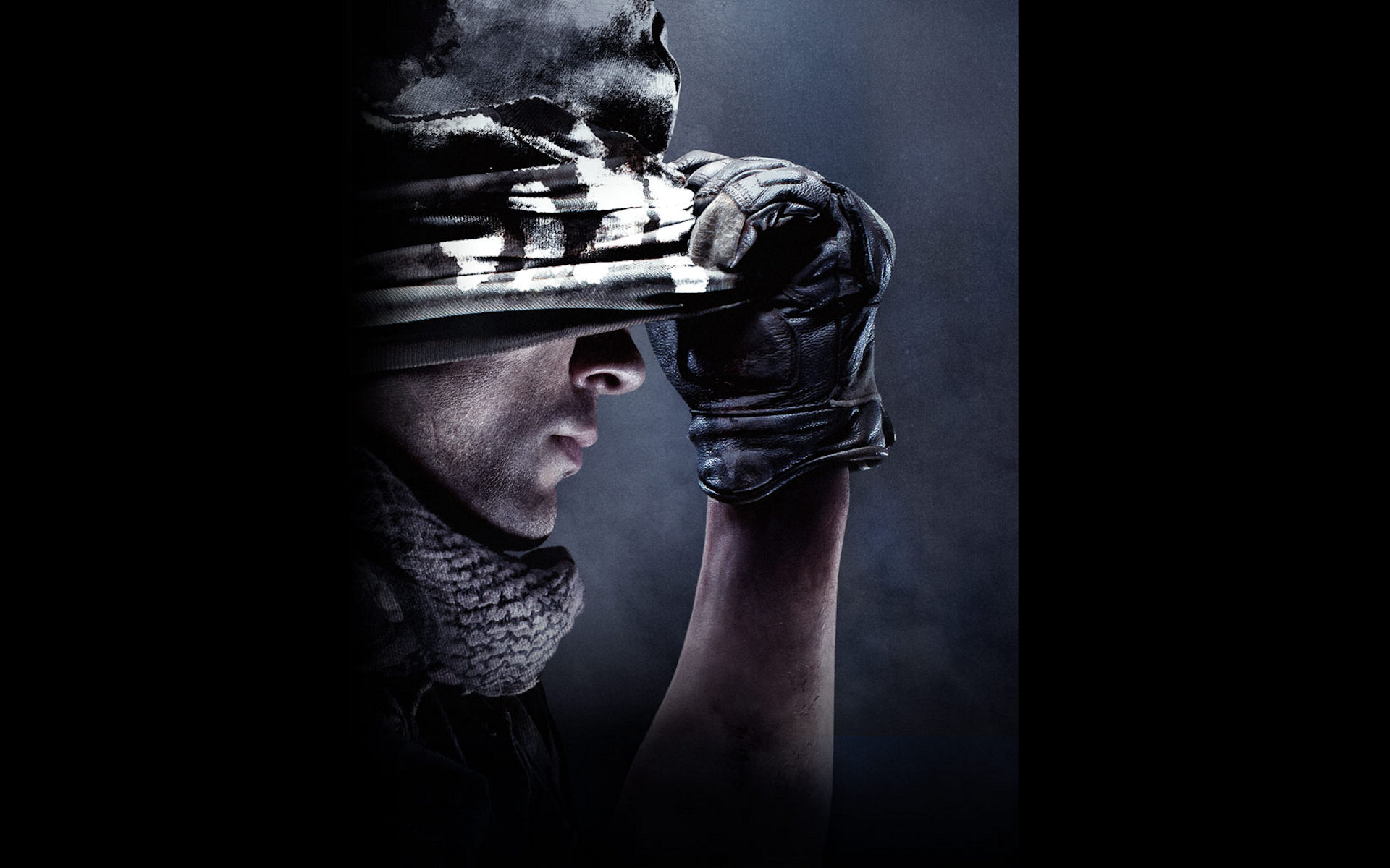 of Duty Ghosts Mask Wallpaper
