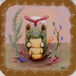 Pokemon 010 Caterpie Artwork