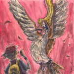 Pokemon 018 Pidgeot Artwork
