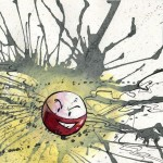 Pokemon 101 Electrode Artwork