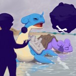 Pokemon 131 Lapras Artwork
