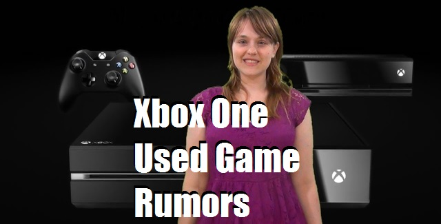 Xbox One Used Game Rumors