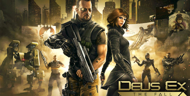 Deus Ex: The Fall Walkthrough