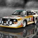 Gran Turismo 6 Audi Sport quattro S1 Rally Car '86 Render