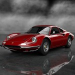 Gran Turismo 6 Ferrari Dino 246 GT '71 Render