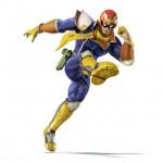 Super Smash Bros Wii U and 3DS Captain Falcon Artwork