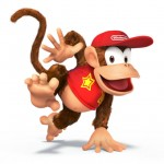Super Smash Bros Wii U and 3DS Diddy Kong Artwork