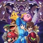 Super Smash Bros Wii U and 3DS Mega Man Artwork