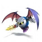 Super Smash Bros Wii U and 3DS Meta Knight Artwork