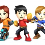 Super Smash Bros Wii U and 3DS Mii Fighters Artwork