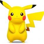 Super Smash Bros Wii U and 3DS Pikachu Artwork