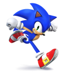 Super Smash Bros Wii U and 3DS Sonic the Hedgehog Artwork
