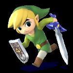 Super Smash Bros Wii U and 3DS Toon Link Artwork