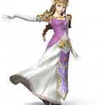 Super Smash Bros Wii U and 3DS Zelda Artwork