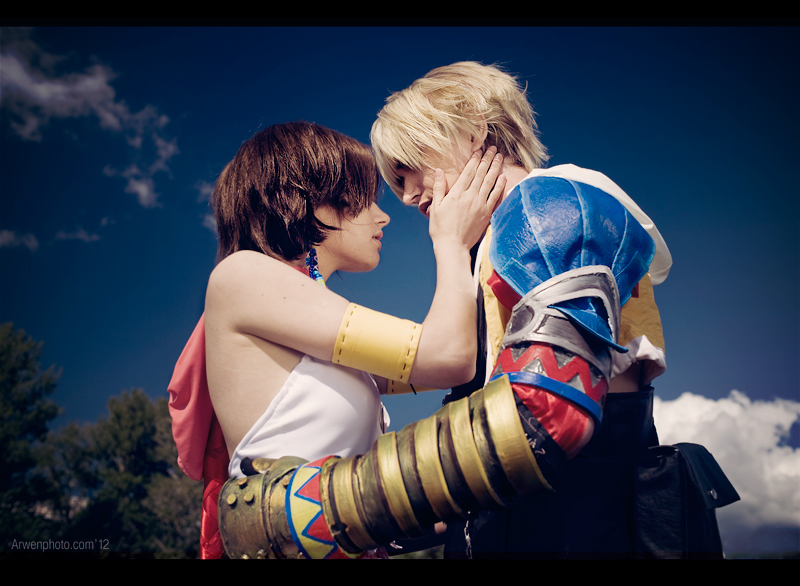 Yuna and Tidus Best Cosplay