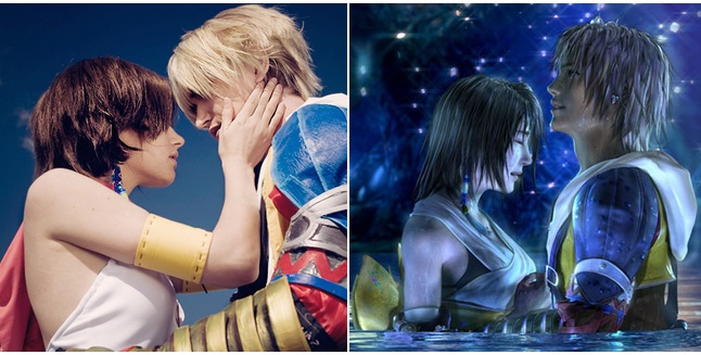 Yuna and Tidus Character Cosplay