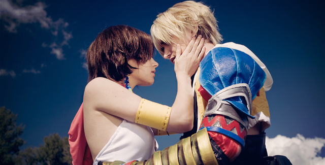 Yuna and Tidus Cosplay