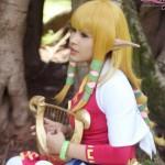 Zelda and Link Cosplay Model