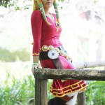 Zelda and Link Video Game Cosplay