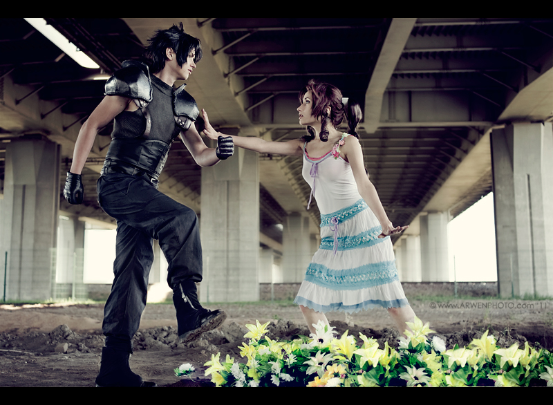 Aerith Zack Character Cosplay