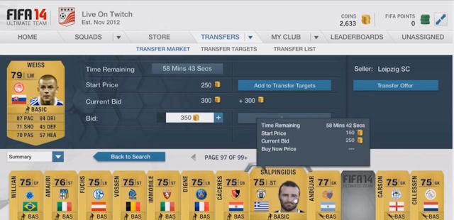 FIFA 14 Money Cheat